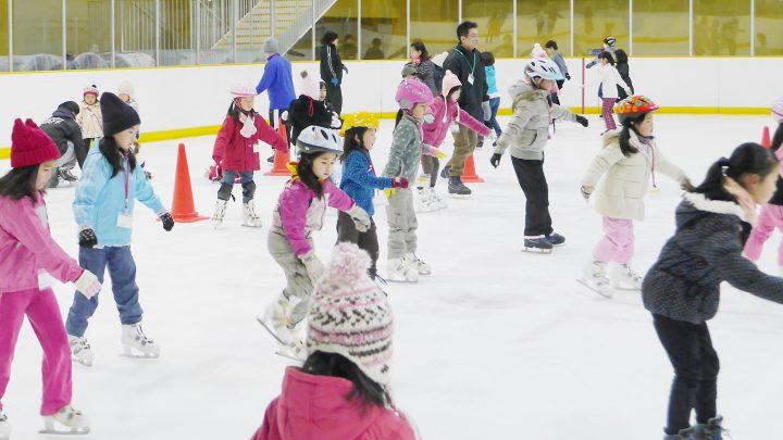 フィギュアスケート?スキー、それともスノーボード?<br>ジュニア向けウィンタースポーツの教室、まだまだやってます!