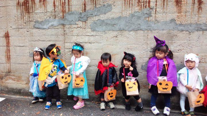 芦屋でハッピーハロウィン♪仮装をしてお菓子をゲットしよう!