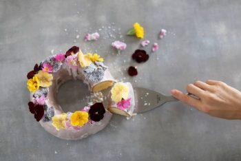 お花のケーキ