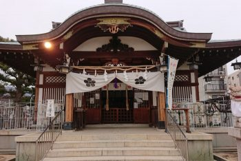 打出天神社 拝殿