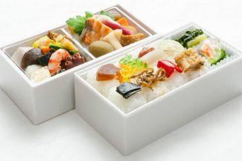 2段重ねのお弁当(梧桐)