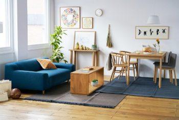 板と脚 飾り棚